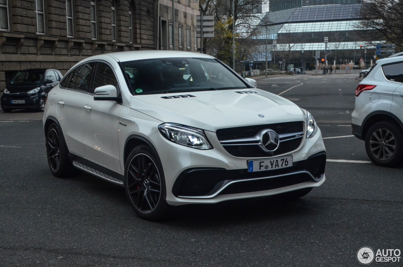 Mercedes amg gle 63 s coup 1 january 2017 autogespot for 2017 amg gle 63 mercedes benz
