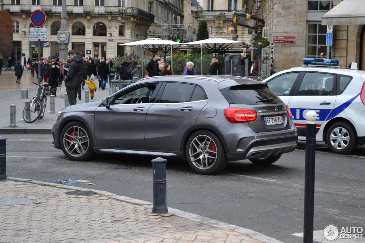 Mercedes benz gla 45 amg x156 1 janvier 2017 autogespot for 2017 amg gla 45 mercedes benz