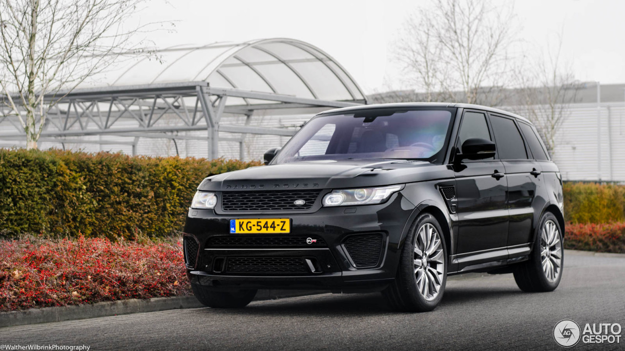 land rover range rover sport svr 2 januari 2017 autogespot. Black Bedroom Furniture Sets. Home Design Ideas
