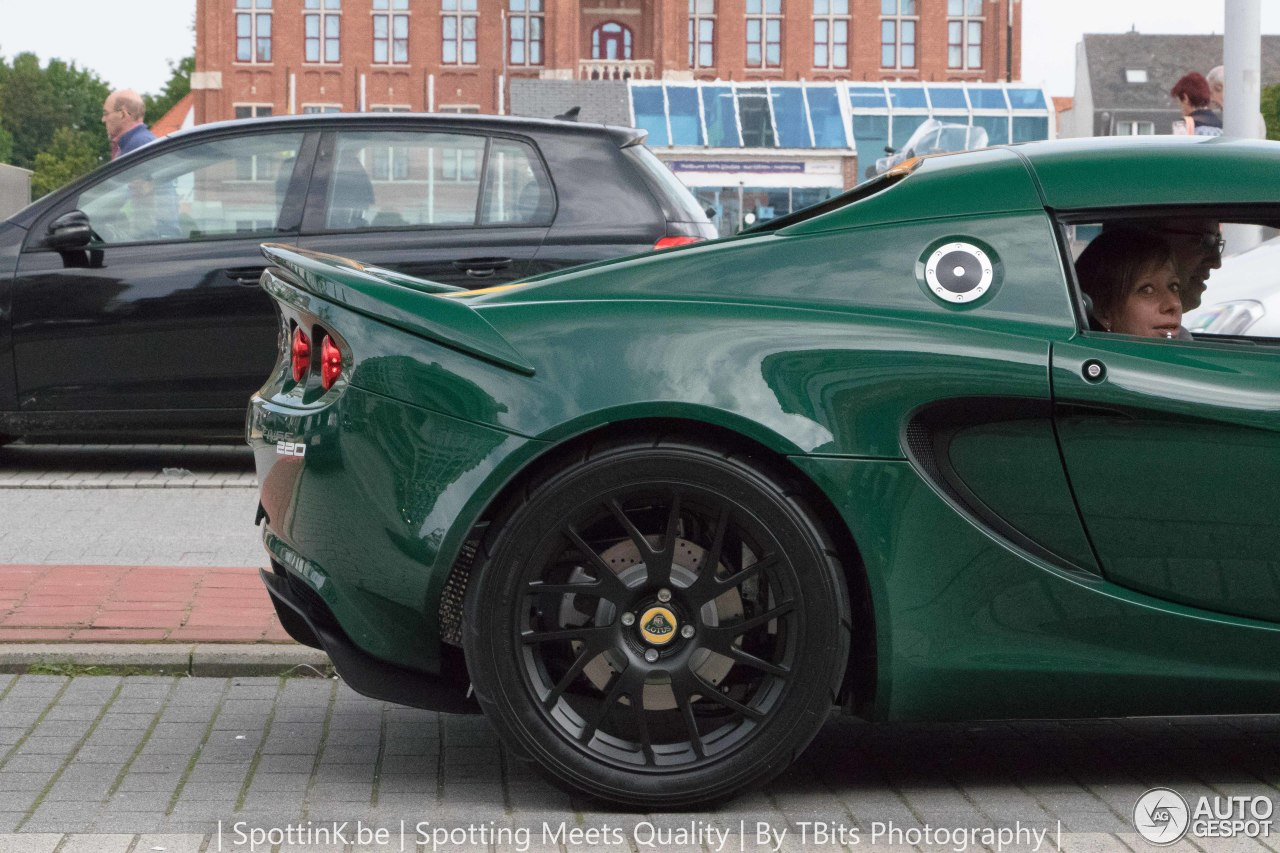 lotus elise s3 220 sport 2 january 2017 autogespot. Black Bedroom Furniture Sets. Home Design Ideas