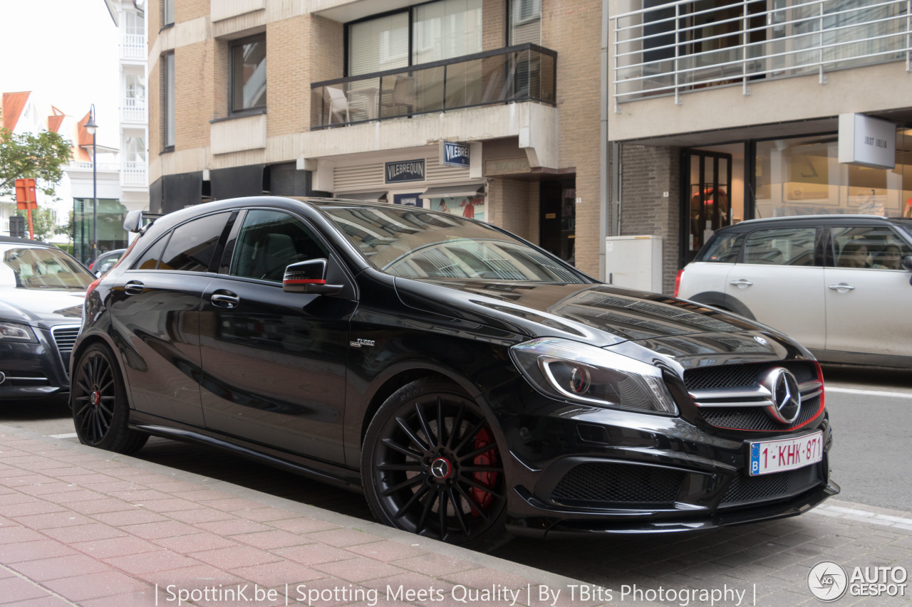 mercedes benz a 45 amg edition 1 2 january 2017 autogespot. Black Bedroom Furniture Sets. Home Design Ideas