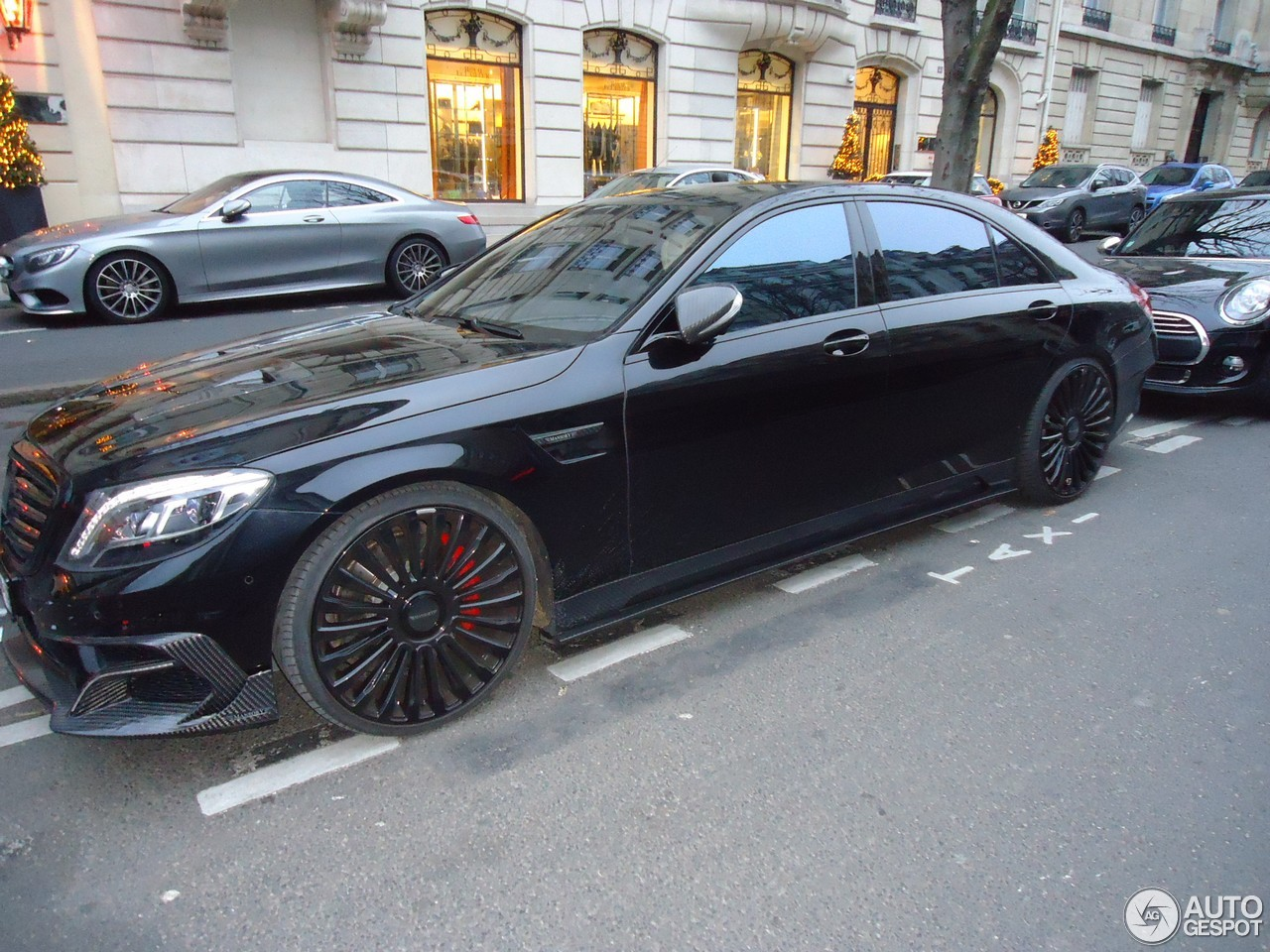 mercedes benz mansory s63 amg w222 2 janvier 2017 autogespot. Black Bedroom Furniture Sets. Home Design Ideas