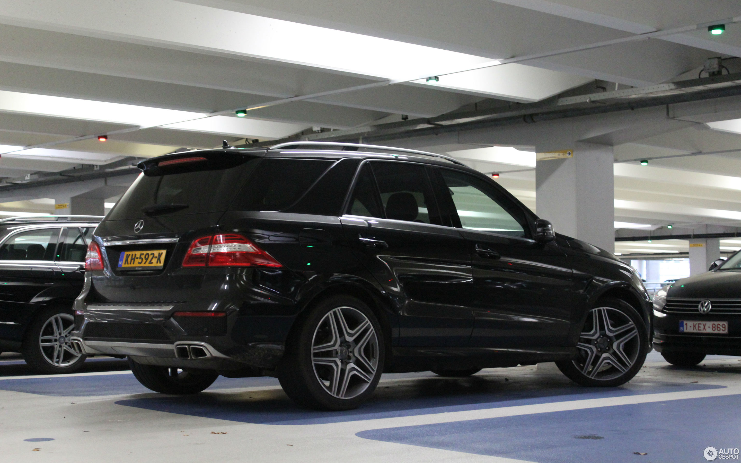 Mercedes Benz Ml 63 Amg W166 2