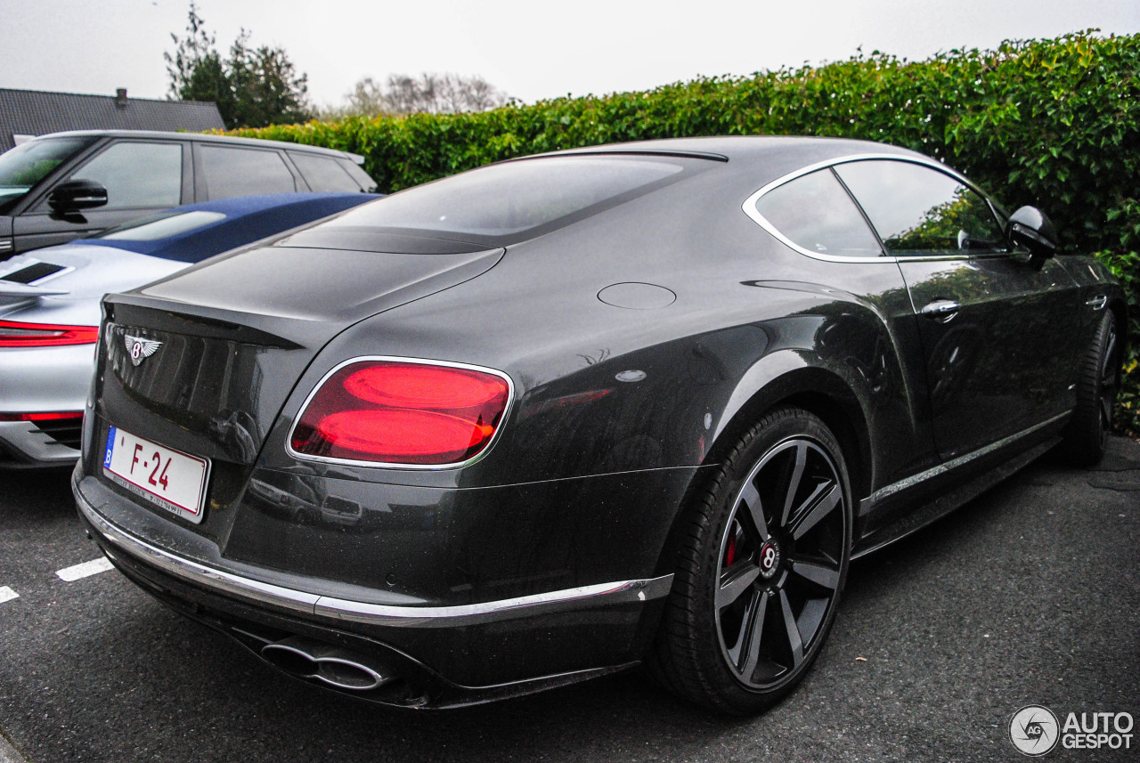 bentley continental gt v8 s 2016 3 januar 2017 autogespot. Black Bedroom Furniture Sets. Home Design Ideas