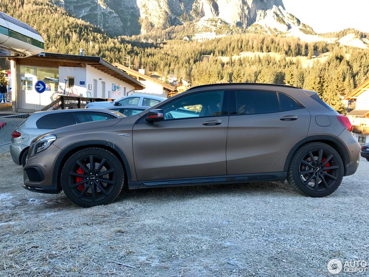 Mercedes benz gla 45 amg x156 3 gennaio 2017 autogespot for 2017 mercedes benz amg gla 45