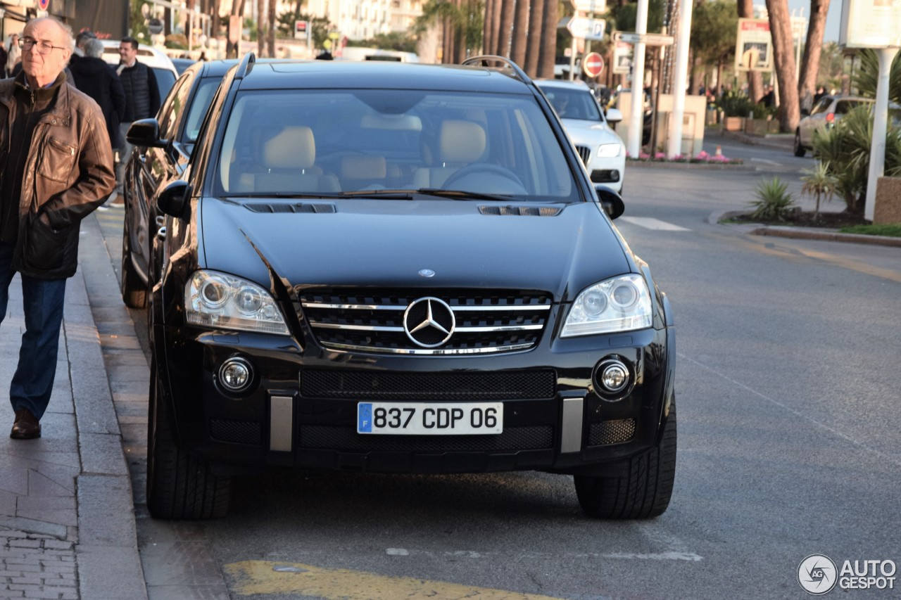 Mercedes benz ml 63 amg w164 3 january 2017 autogespot for Mercedes benz w164