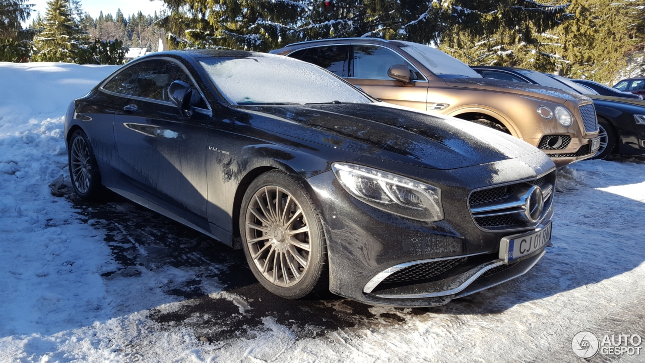Mercedes benz s 65 amg coup c217
