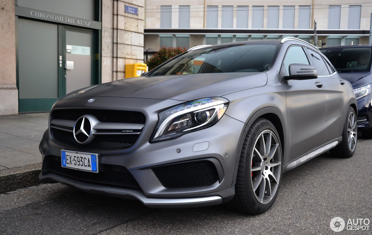 mercedes benz gla 45 amg x156 4 january 2017 autogespot. Black Bedroom Furniture Sets. Home Design Ideas