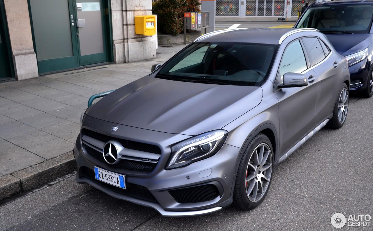 Mercedes benz gla 45 amg x156 4 janvier 2017 autogespot for 2017 mercedes benz amg gla 45