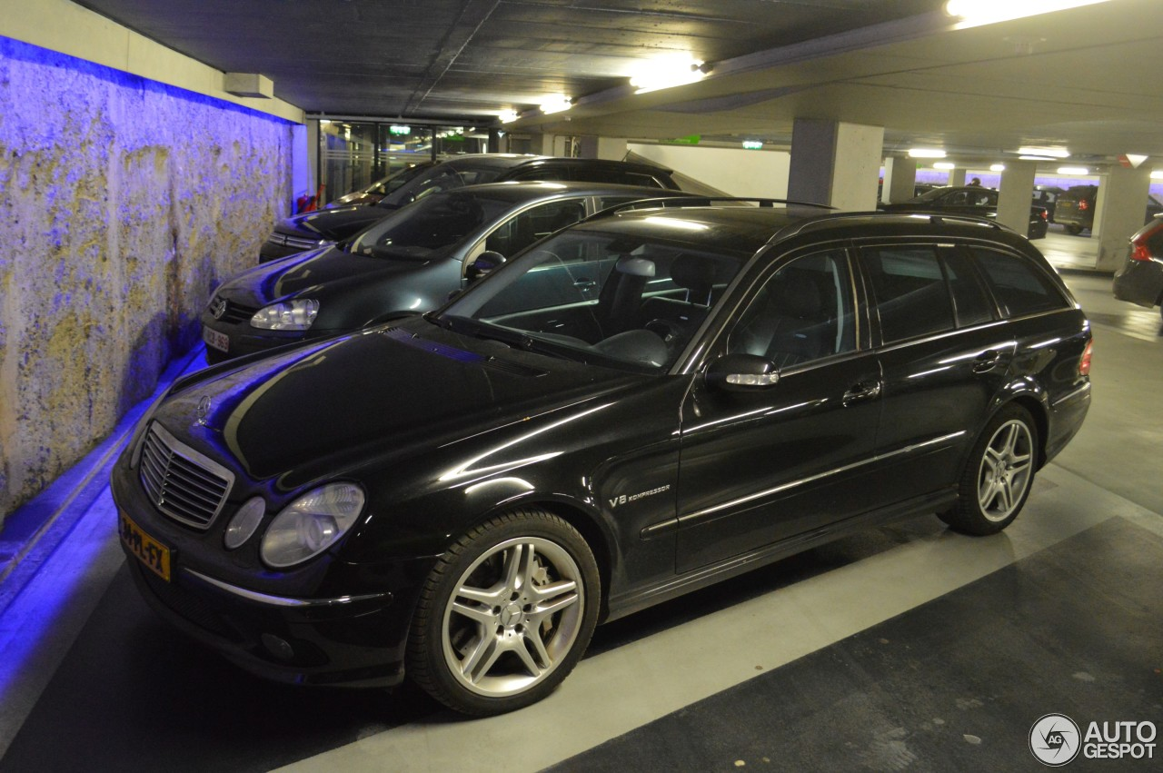 mercedes benz e 55 amg combi 6 january 2017 autogespot. Black Bedroom Furniture Sets. Home Design Ideas