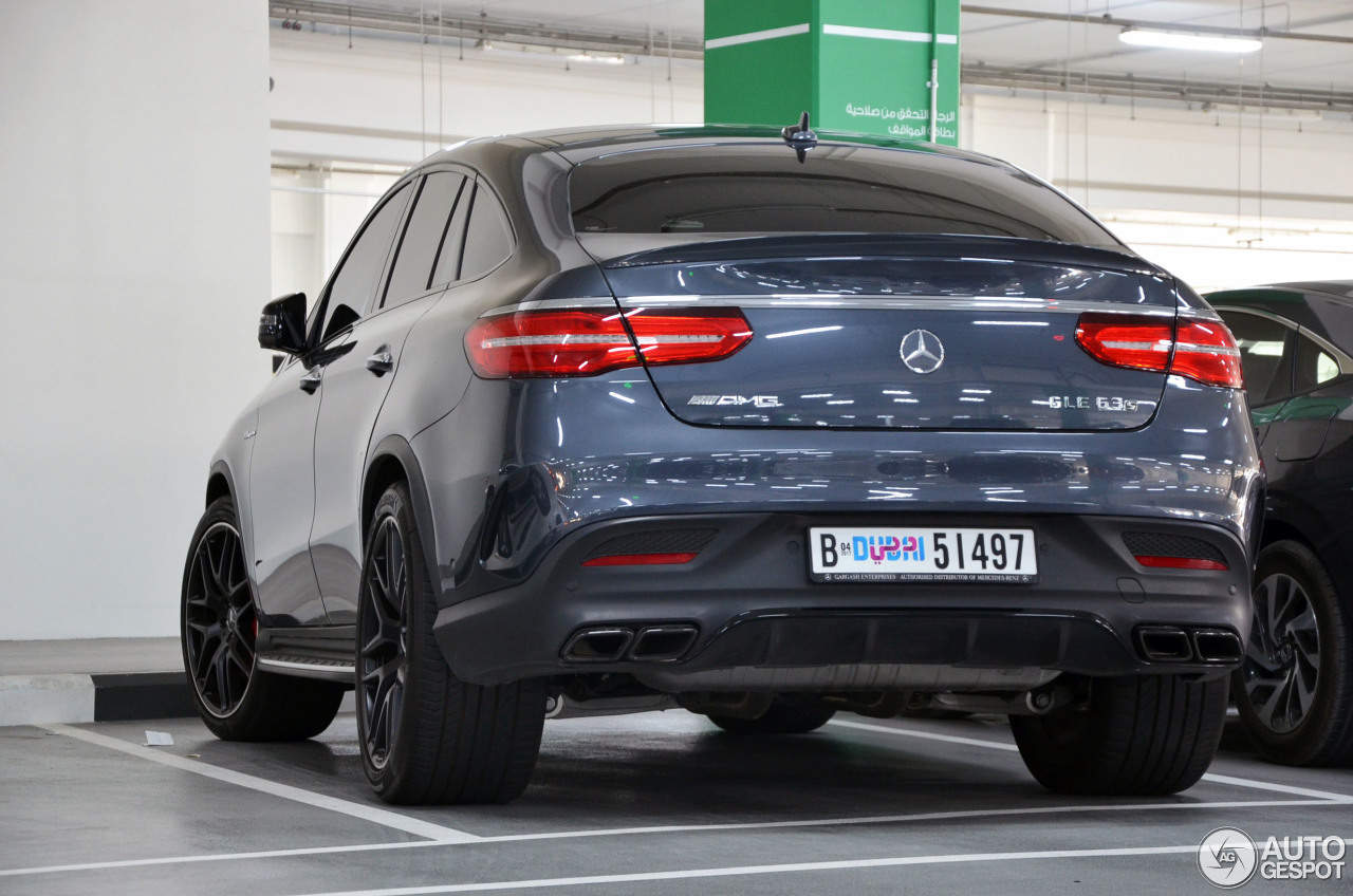mercedes amg gle 63 s coup 7 january 2017 autogespot. Black Bedroom Furniture Sets. Home Design Ideas