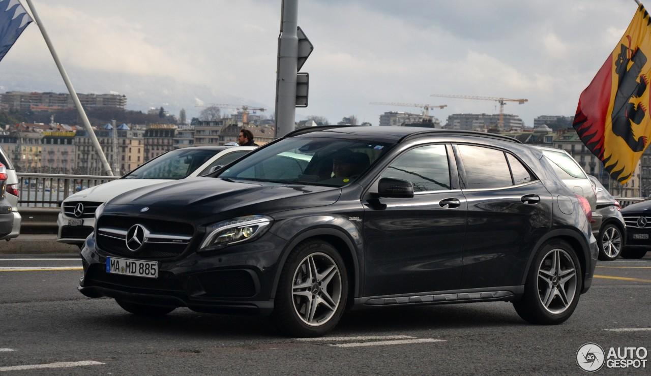 Mercedes benz gla 45 amg x156 7 january 2017 autogespot for 2017 amg gla 45 mercedes benz