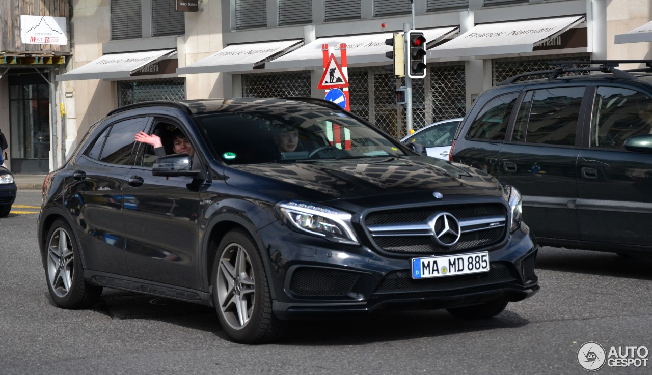 mercedes benz gla 45 amg x156 7 january 2017 autogespot. Black Bedroom Furniture Sets. Home Design Ideas