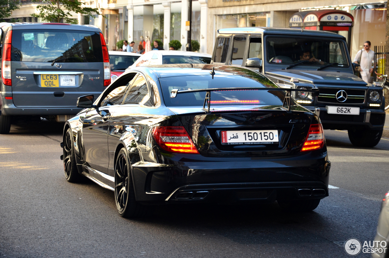 Mercedes benz c 63 amg coup black series 8 january 2017 for 5 series mercedes benz
