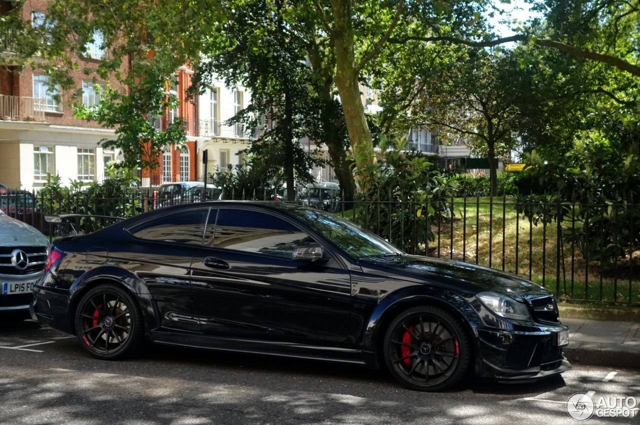 Mercedes benz c 63 amg coup black series 8 january 2017 for Mercedes benz black on black