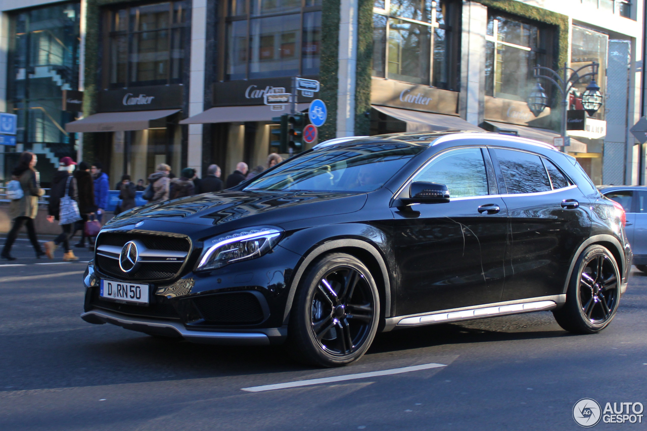 mercedes benz gla 45 amg x156 8 january 2017 autogespot