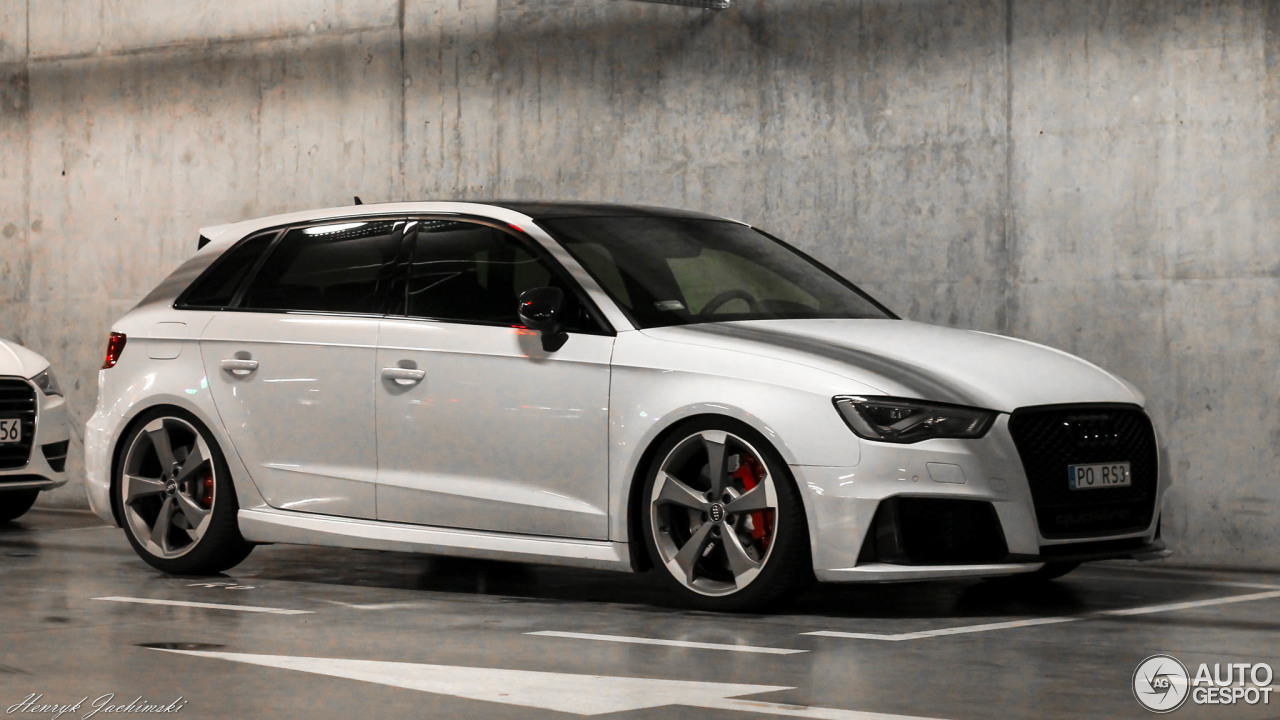 audi rs3 sportback 8v 9 stycze 2017 autogespot. Black Bedroom Furniture Sets. Home Design Ideas