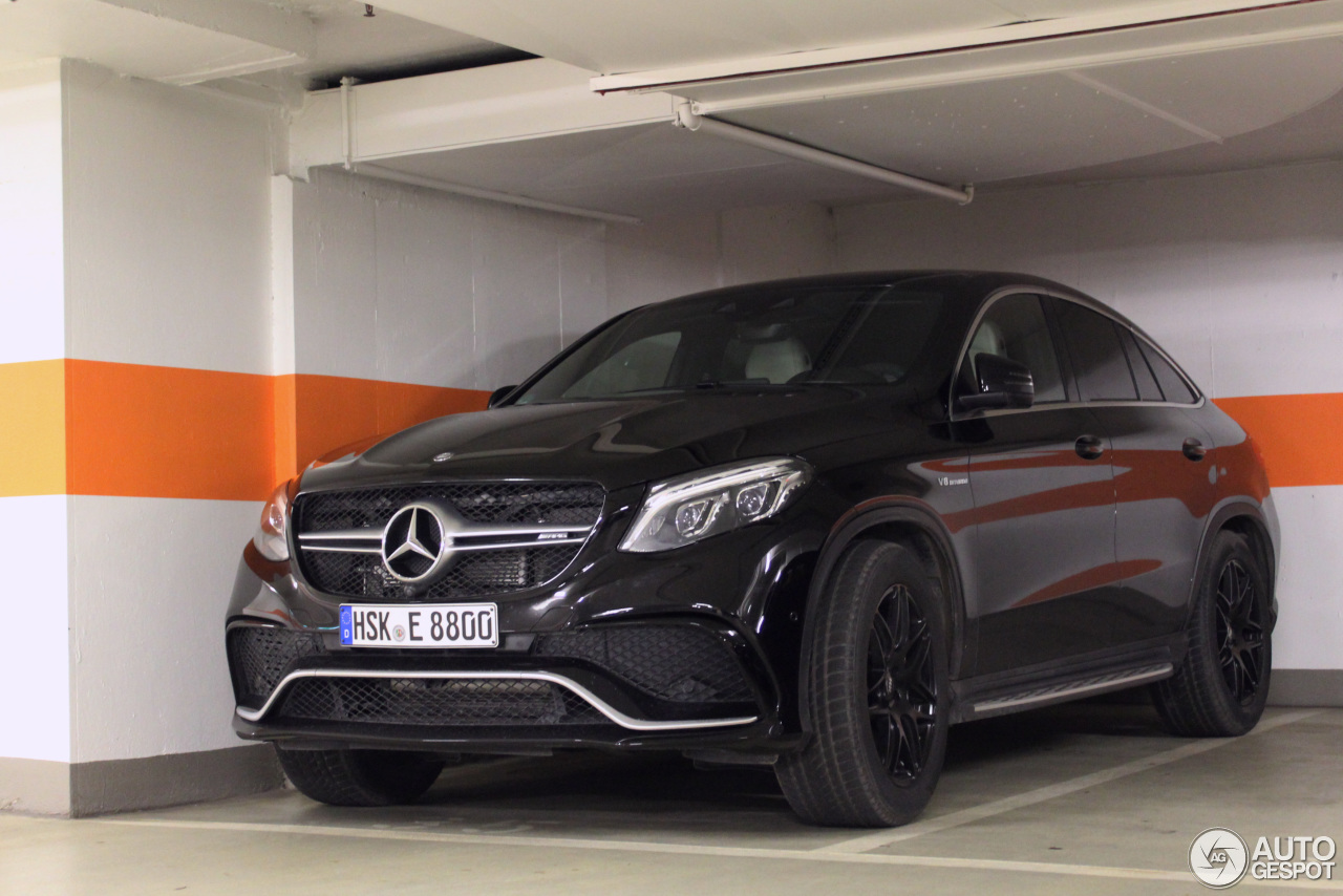 Mercedes amg gle 63 s coup 9 january 2017 autogespot for 2017 amg gle 63 s coupe mercedes benz