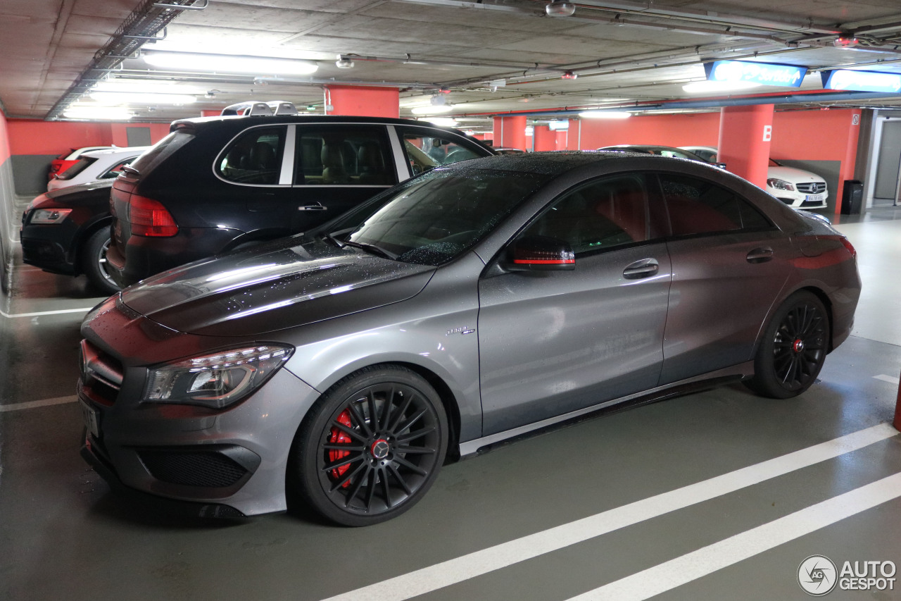 mercedes benz cla 45 amg c117 9 januar 2017 autogespot. Black Bedroom Furniture Sets. Home Design Ideas