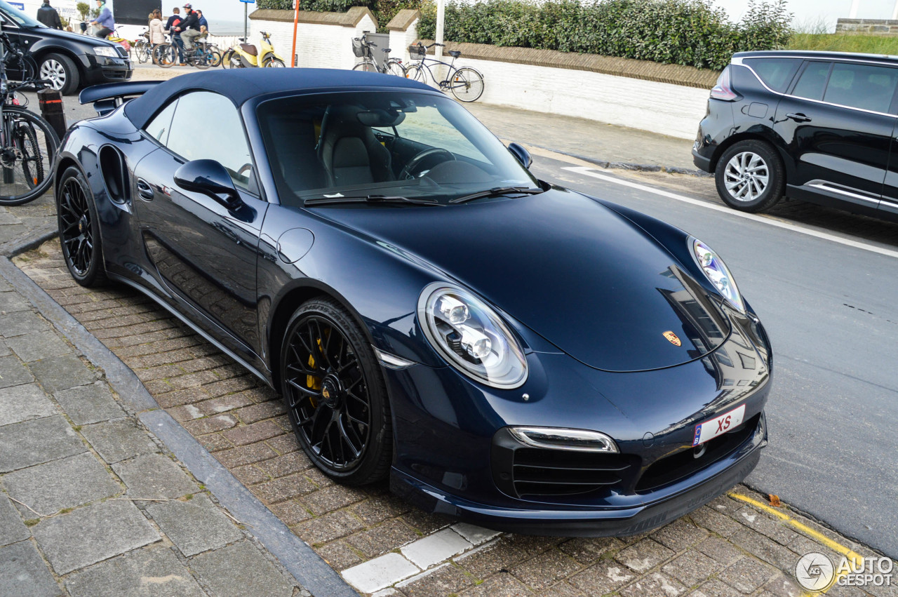 porsche 991 turbo s cabriolet 9 january 2017 autogespot. Black Bedroom Furniture Sets. Home Design Ideas