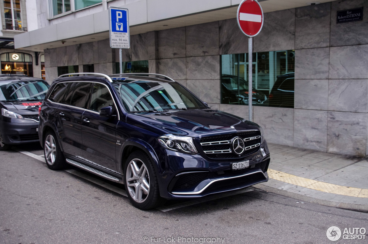 Mercedes amg gls 63 10 stycze 2017 autogespot for Mercedes benz gls 63 amg