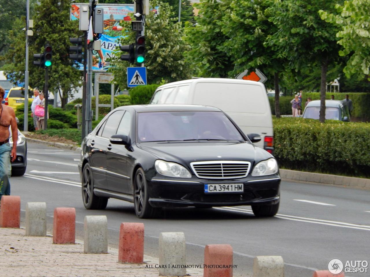 Mercedes benz s 55 amg w220 kompressor 11 enero 2017 for Mercedes benz s 55