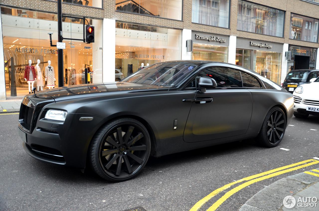 Rolls Royce Wraith 11 Janvier 2017 Autogespot