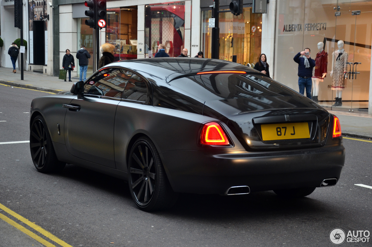 rolls royce wraith 11 january 2017 autogespot. Black Bedroom Furniture Sets. Home Design Ideas