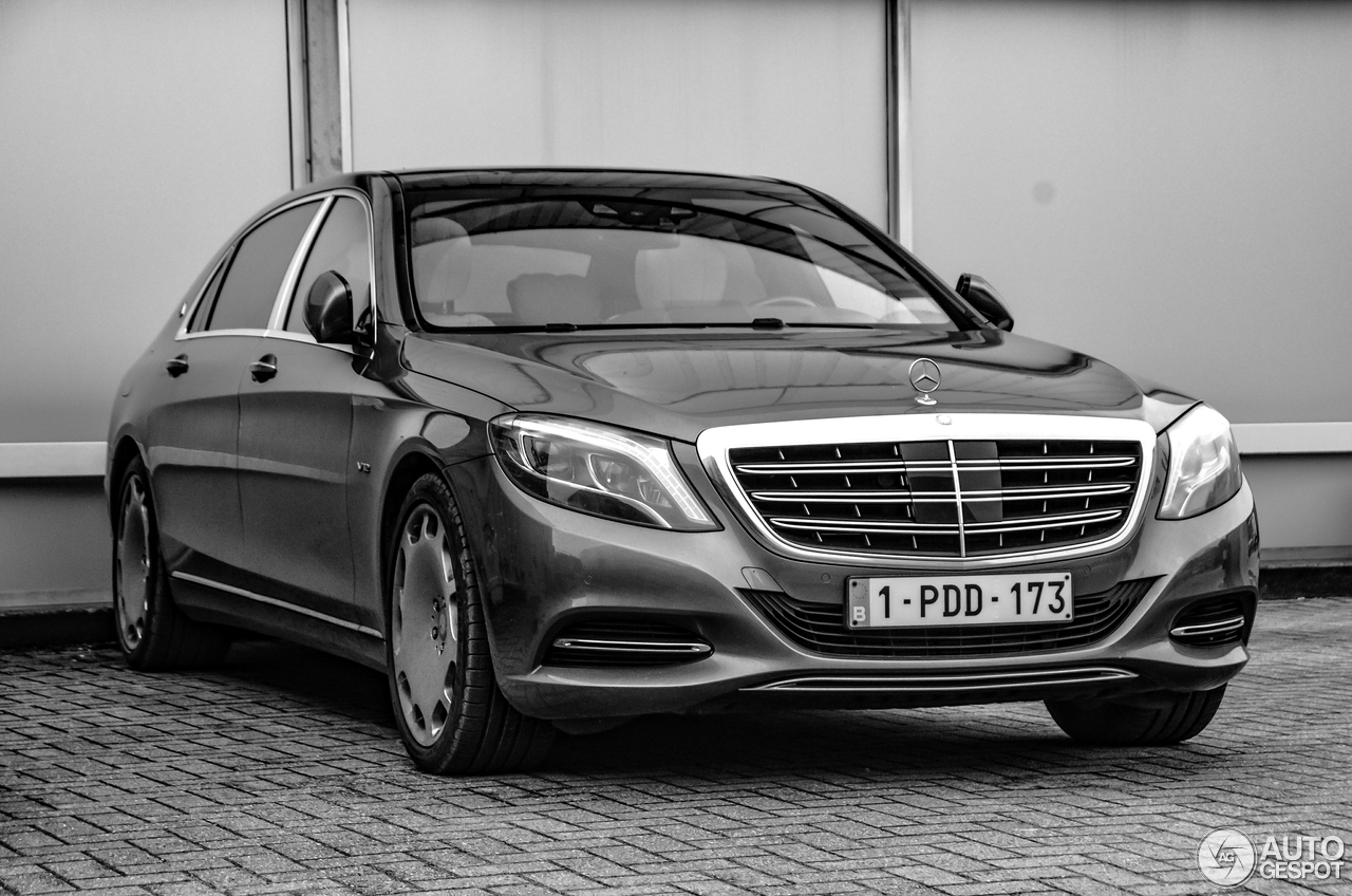 Mercedes maybach s600 12 january 2017 autogespot for 2017 mercedes benz s600