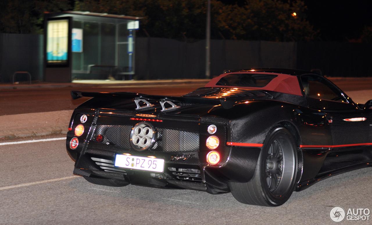 Pagani zonda c12 f roadster 12 january 2017 autogespot 2 i pagani zonda c12 f roadster 2 vanachro Gallery