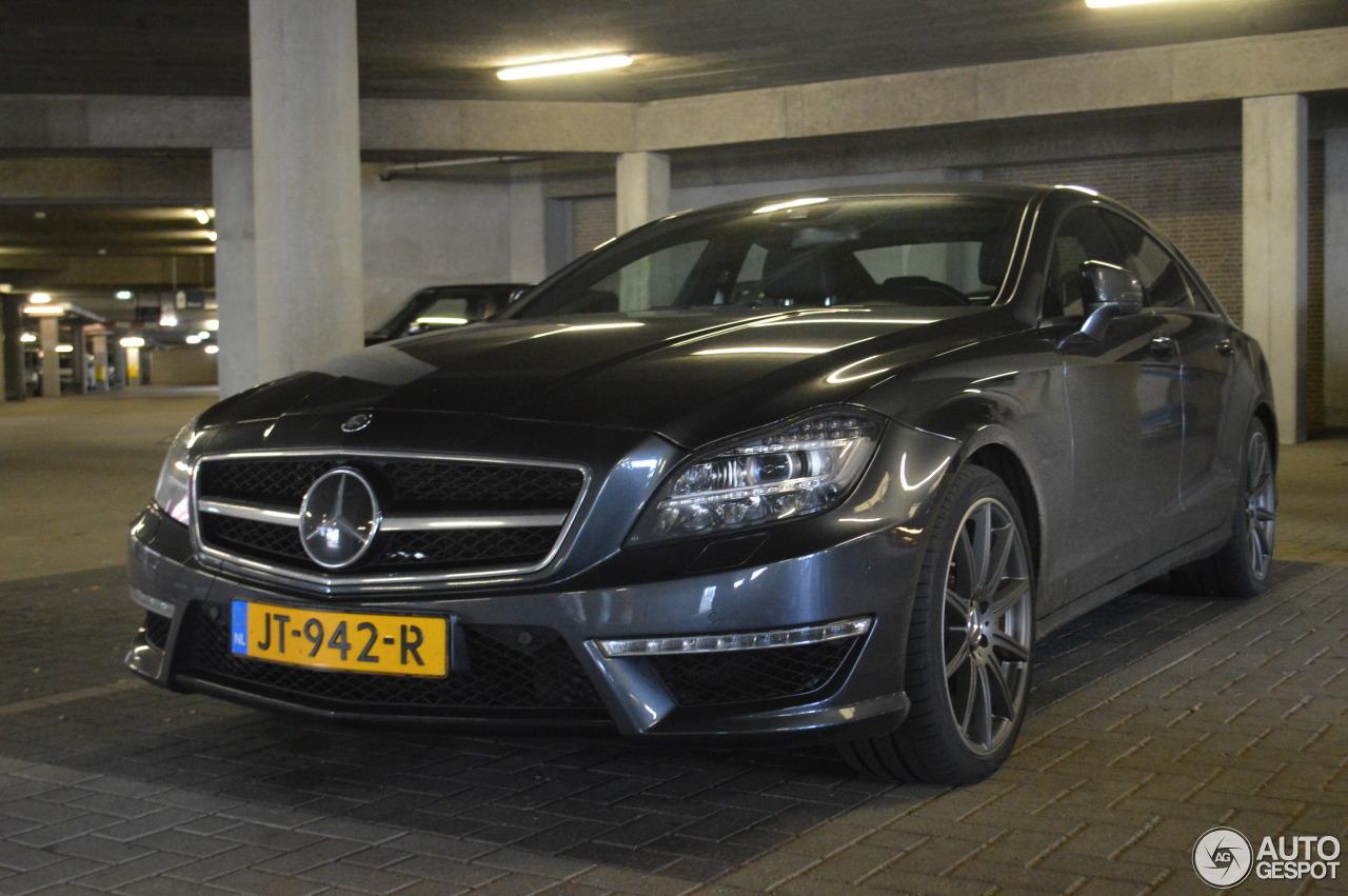 Mercedes benz cls 63 amg s c218 14 janvier 2017 autogespot for 2017 amg cls 63 mercedes benz
