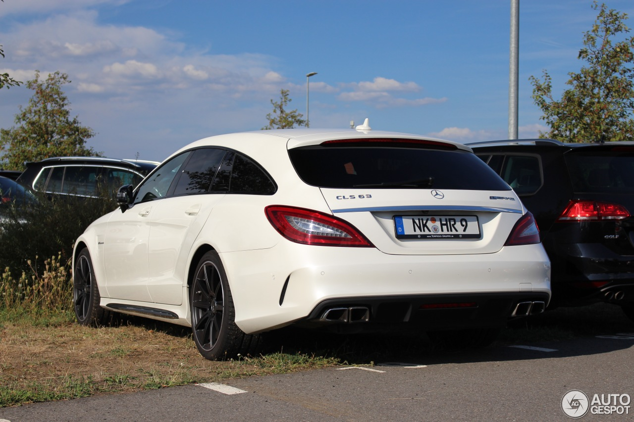 mercedes benz cls 63 amg s x218 shooting brake 2015 14 january 2017 autogespot. Black Bedroom Furniture Sets. Home Design Ideas