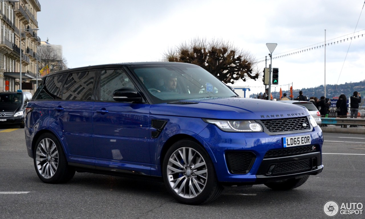 land rover range rover sport svr 15 januar 2017 autogespot. Black Bedroom Furniture Sets. Home Design Ideas