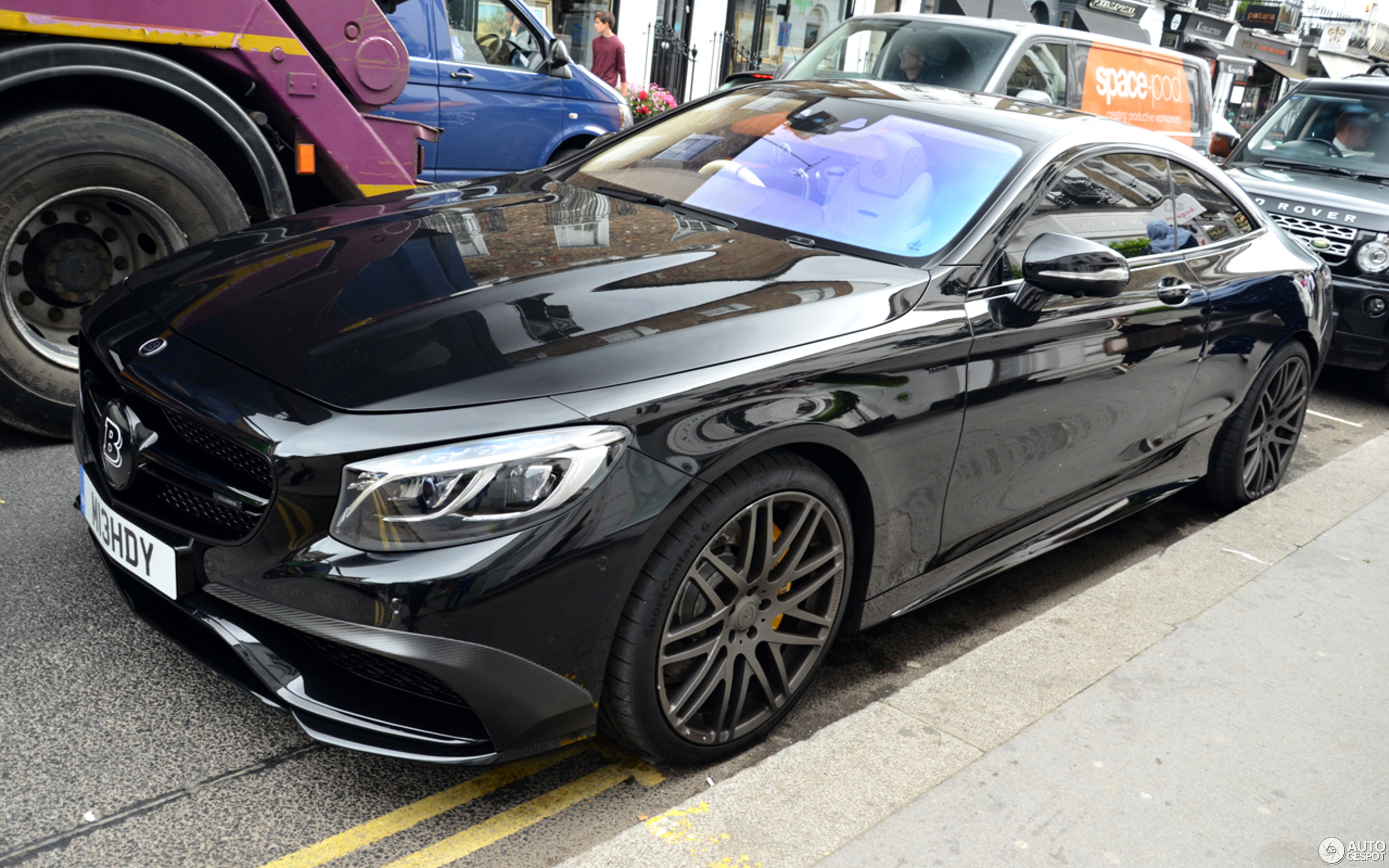 mercedes benz brabus s b63s 730 coupe c217 15 january. Black Bedroom Furniture Sets. Home Design Ideas