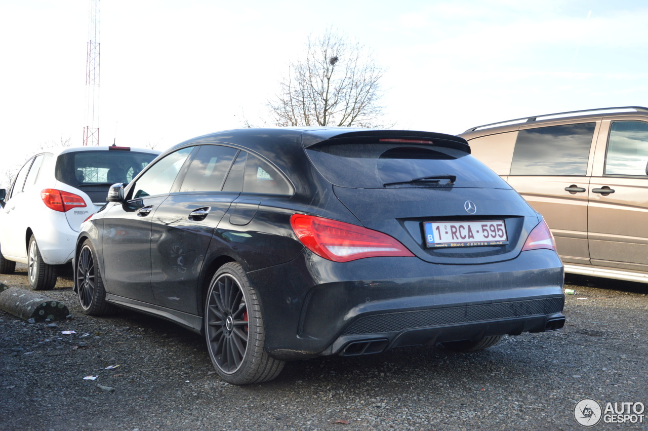 mercedes benz cla 45 amg shooting brake 16 januari 2017 autogespot. Black Bedroom Furniture Sets. Home Design Ideas