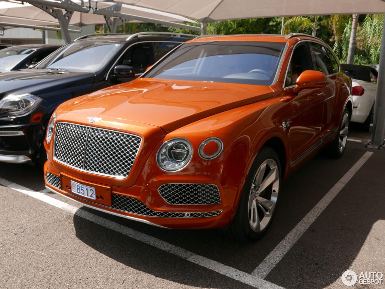 100 Bentley Bentayga Interior Black New 2018