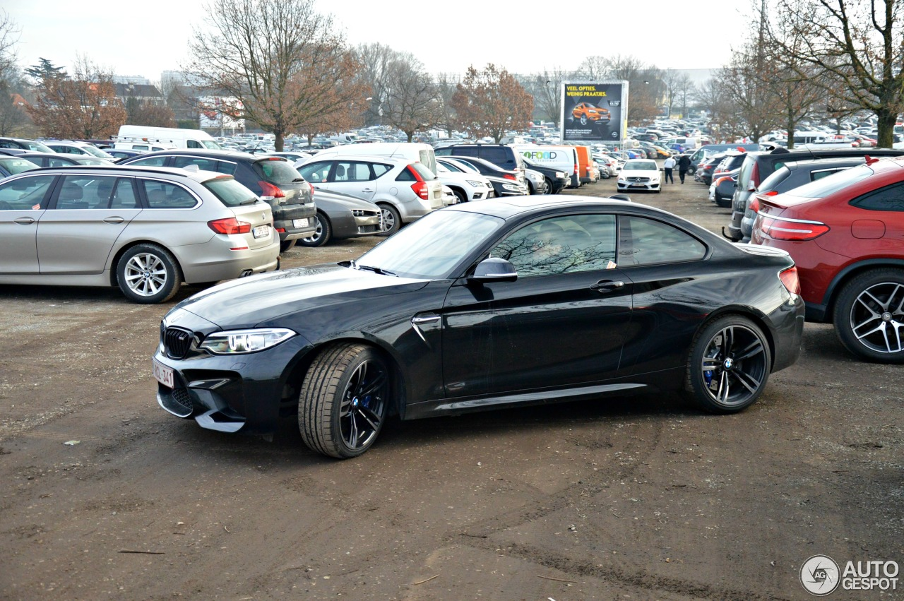 bmw m2 coup f87 18 january 2017 autogespot. Black Bedroom Furniture Sets. Home Design Ideas