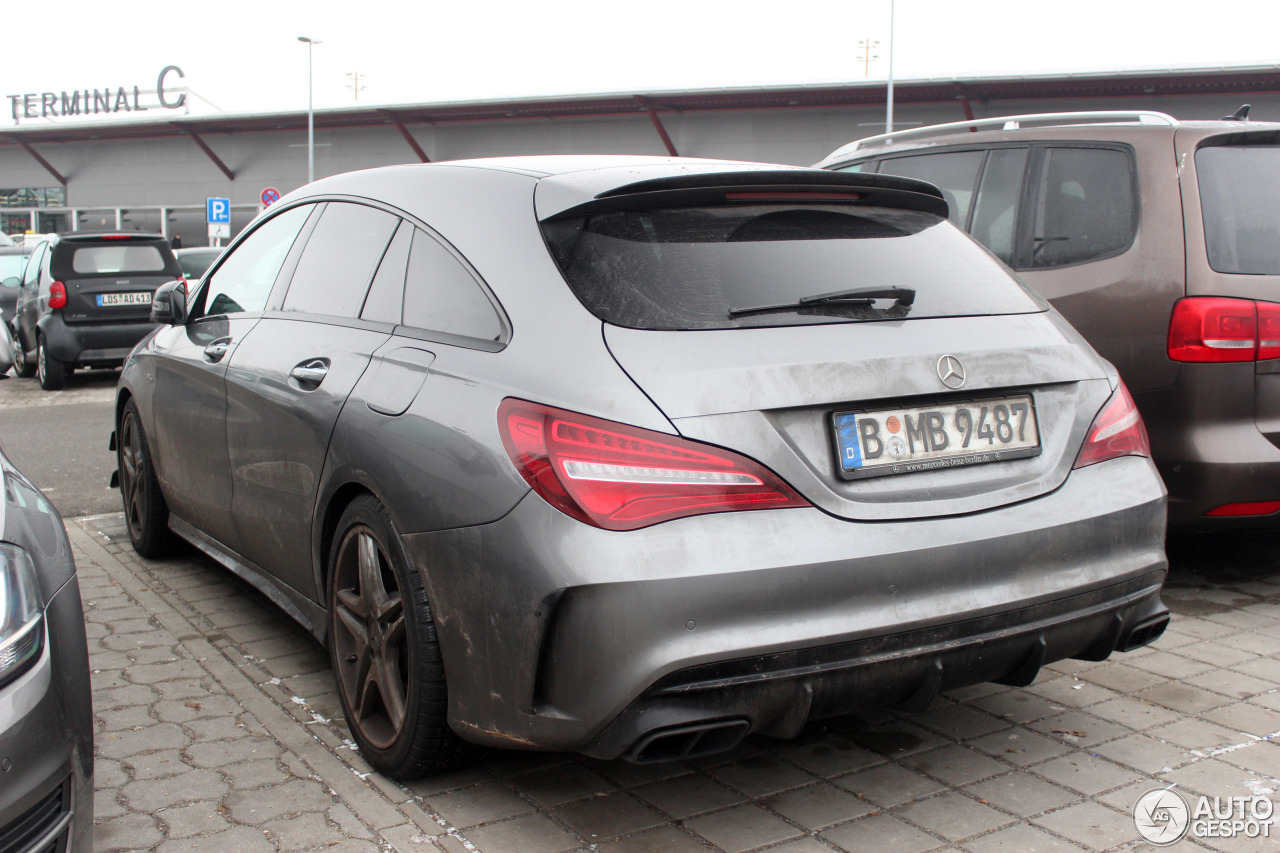 mercedes amg cla 45 shooting brake x117 2017 18 januar 2017 autogespot. Black Bedroom Furniture Sets. Home Design Ideas
