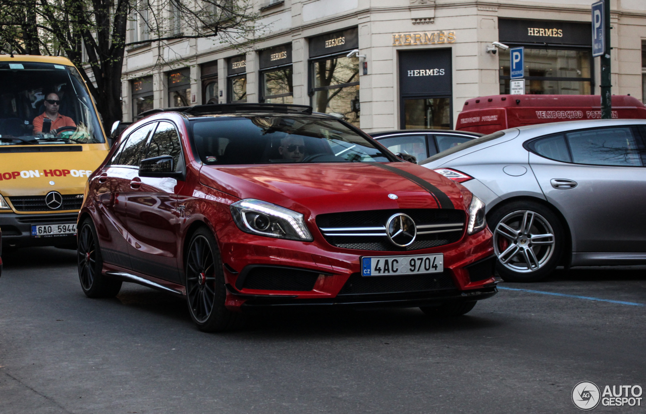 Mercedes benz a 45 amg edition 1 18 january 2017 for Mercedes benz a 45