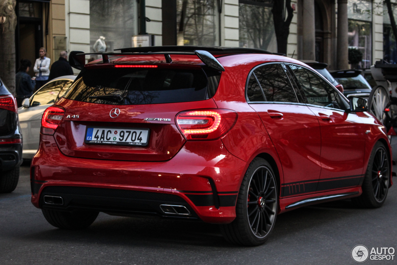 mercedes benz a 45 amg edition 1 18 january 2017. Black Bedroom Furniture Sets. Home Design Ideas