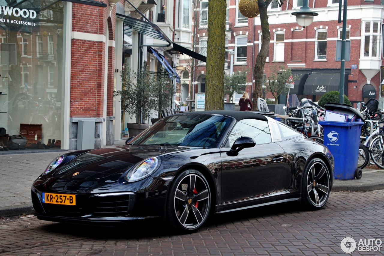 porsche 991 targa 4s mkii 20 january 2017 autogespot. Black Bedroom Furniture Sets. Home Design Ideas