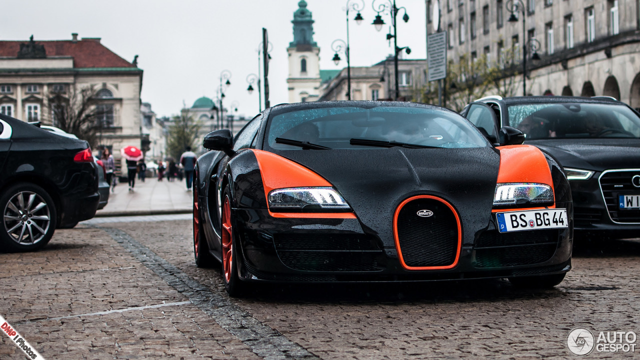 bugatti veyron 16 4 grand sport vitesse world record car edition 21 january. Black Bedroom Furniture Sets. Home Design Ideas