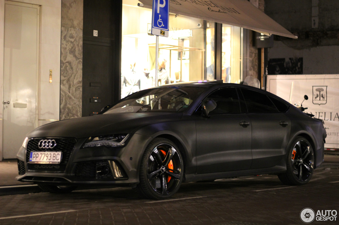 audi rs7 sportback 22 january 2017 autogespot. Black Bedroom Furniture Sets. Home Design Ideas
