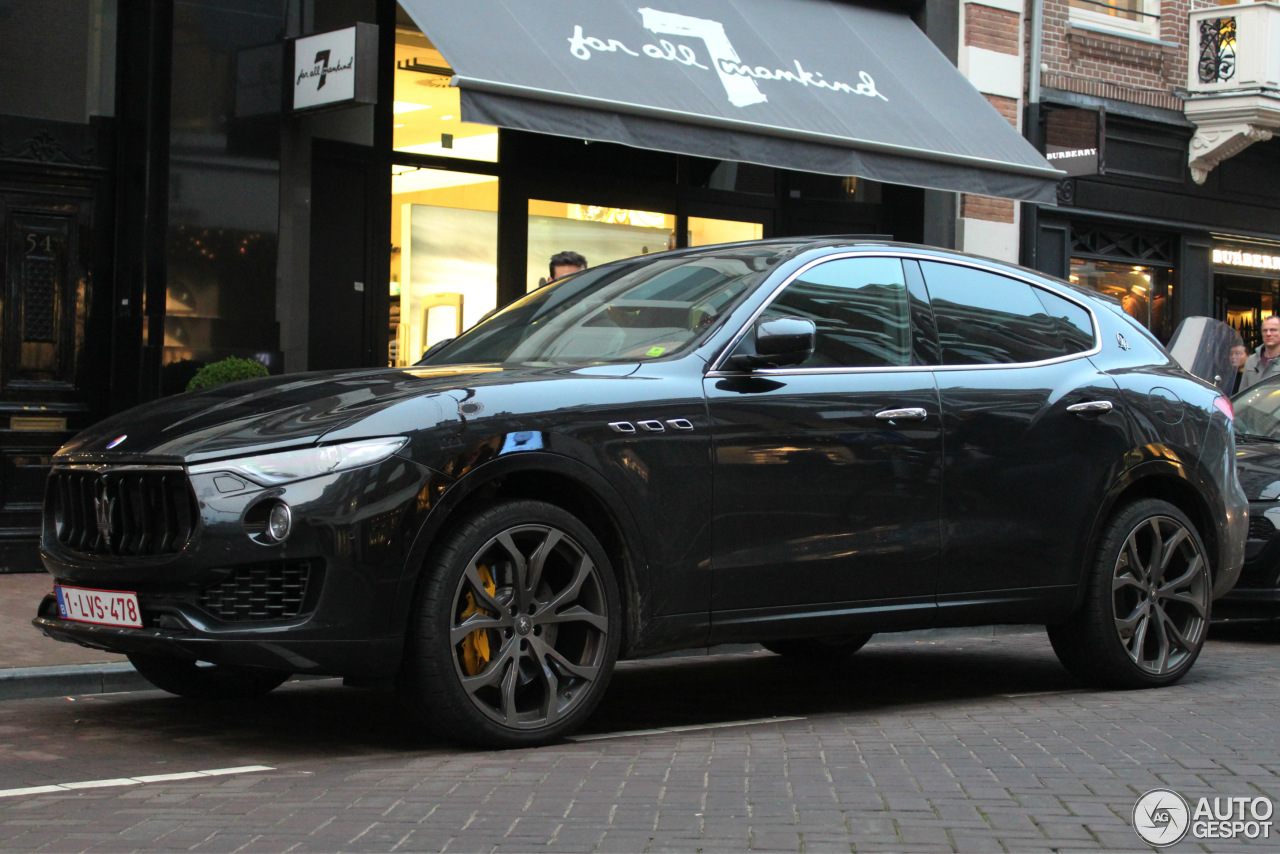 maserati levante s 22 january 2017 autogespot. Black Bedroom Furniture Sets. Home Design Ideas