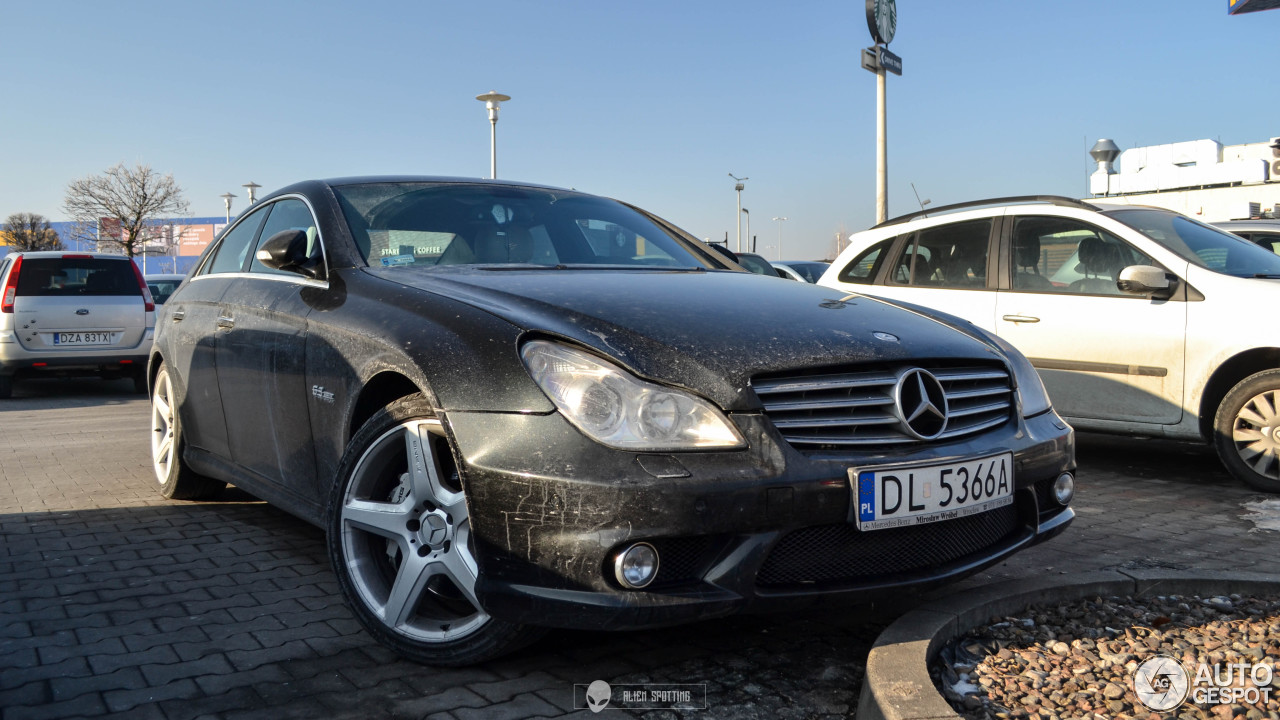 Mercedes benz cls 63 amg c219 22 january 2017 autogespot for Mercedes benz cls 550 amg