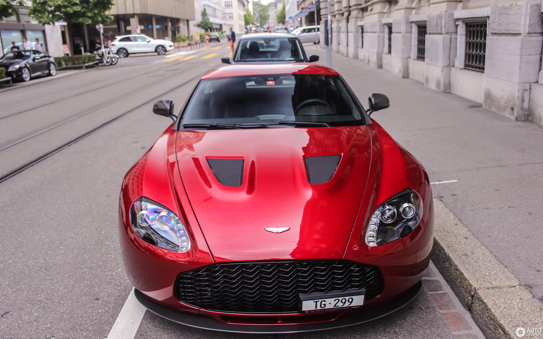 Aston Martin V Zagato January Autogespot - Aston martin v12 zagato