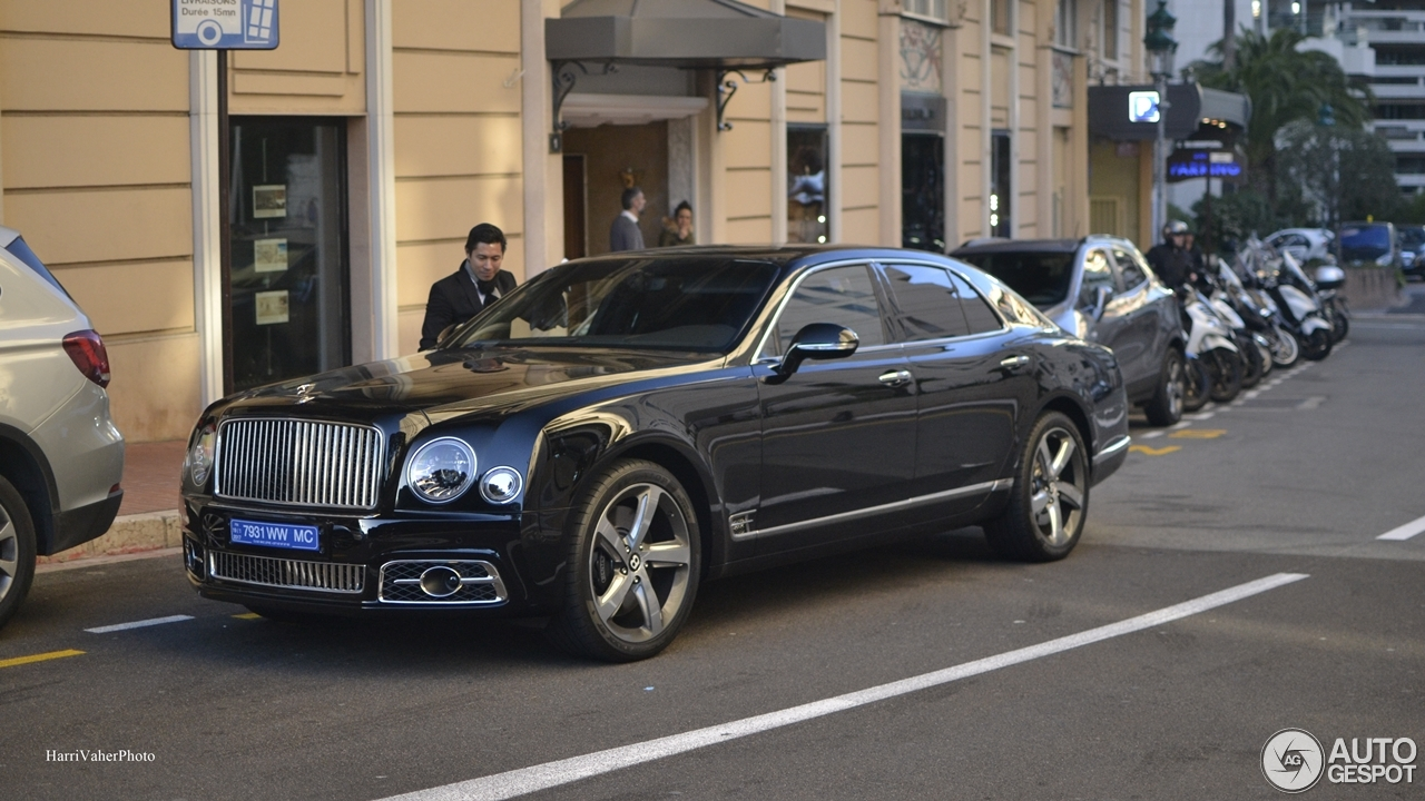 Bentley Mulsanne Sd 2016 First Edition