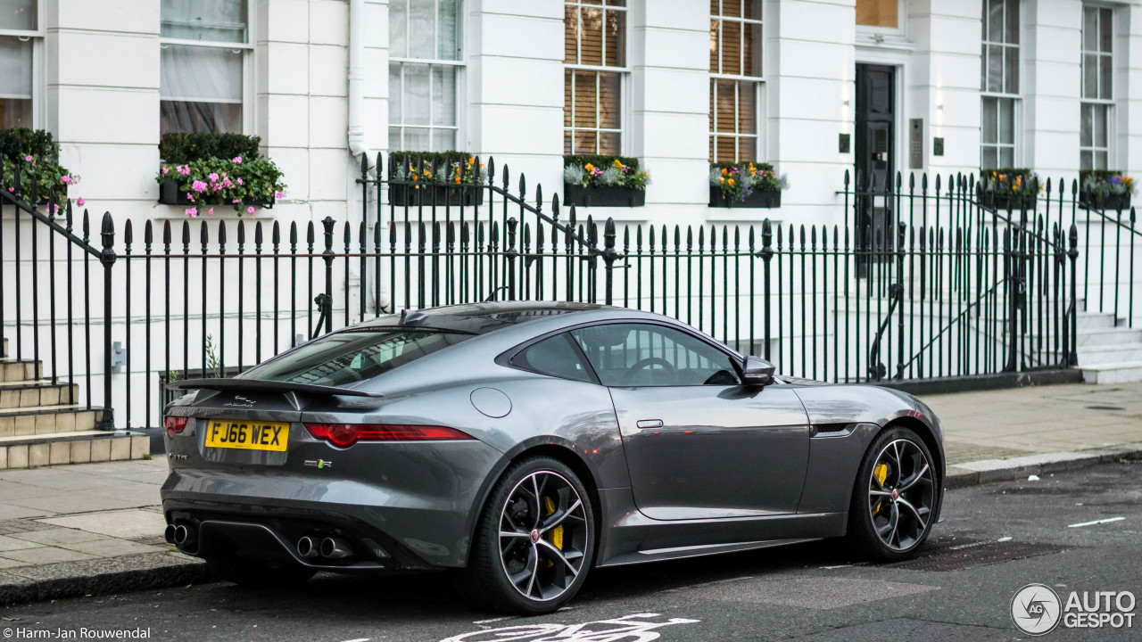 jaguar f type r awd coup 23 january 2017 autogespot. Black Bedroom Furniture Sets. Home Design Ideas