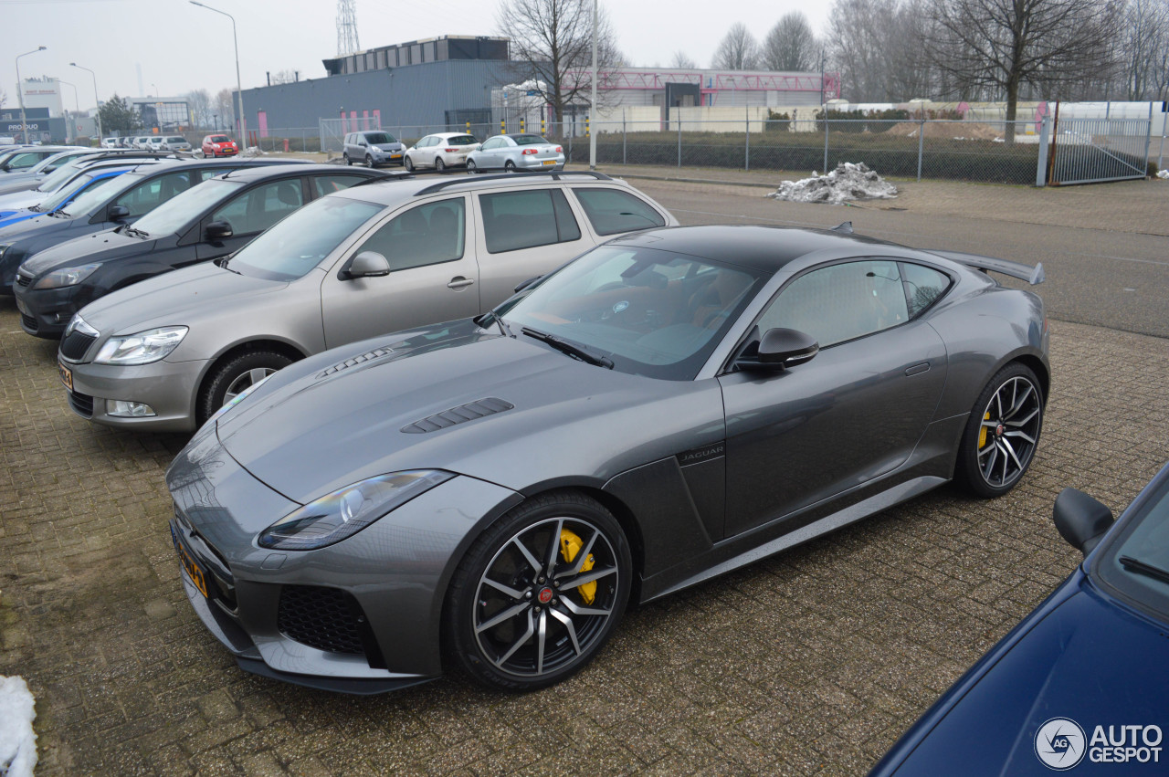 jaguar f type svr coup 23 january 2017 autogespot. Black Bedroom Furniture Sets. Home Design Ideas