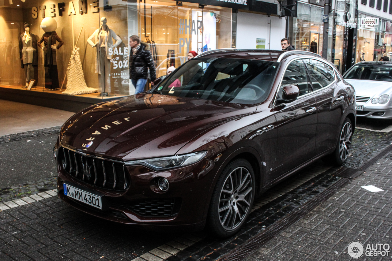maserati levante s 23 january 2017 autogespot. Black Bedroom Furniture Sets. Home Design Ideas